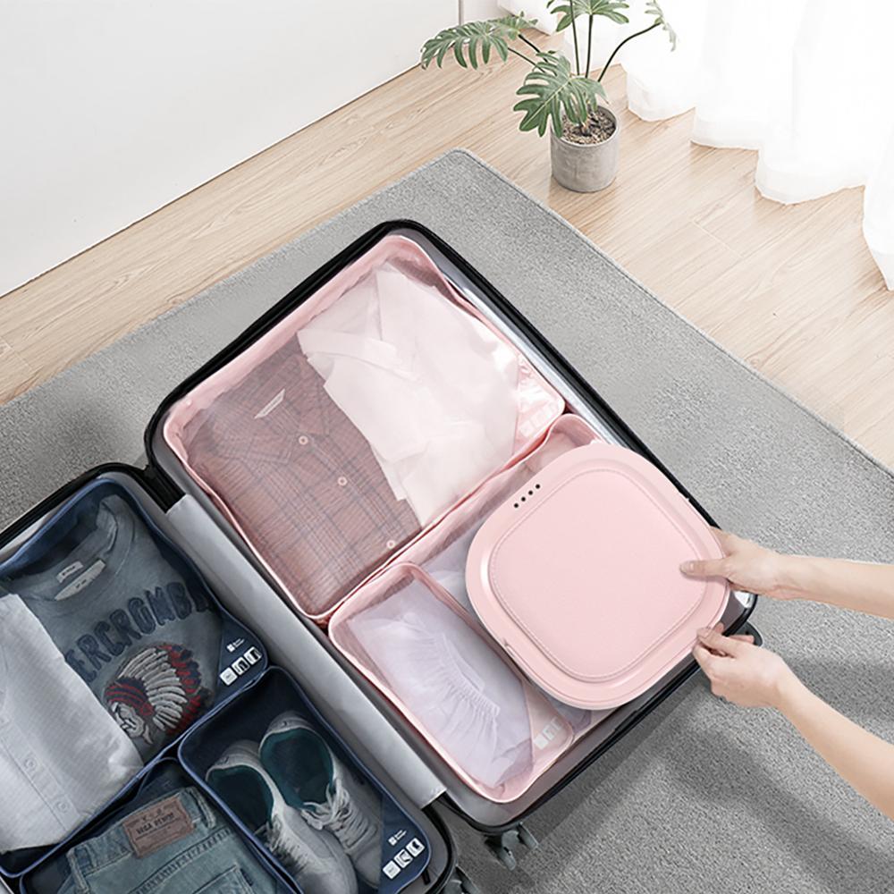 Moyu XPB08-F1G Folding Mini Washing Machine Portable Compact Laundry Dehydrated for Business Travel enlarge