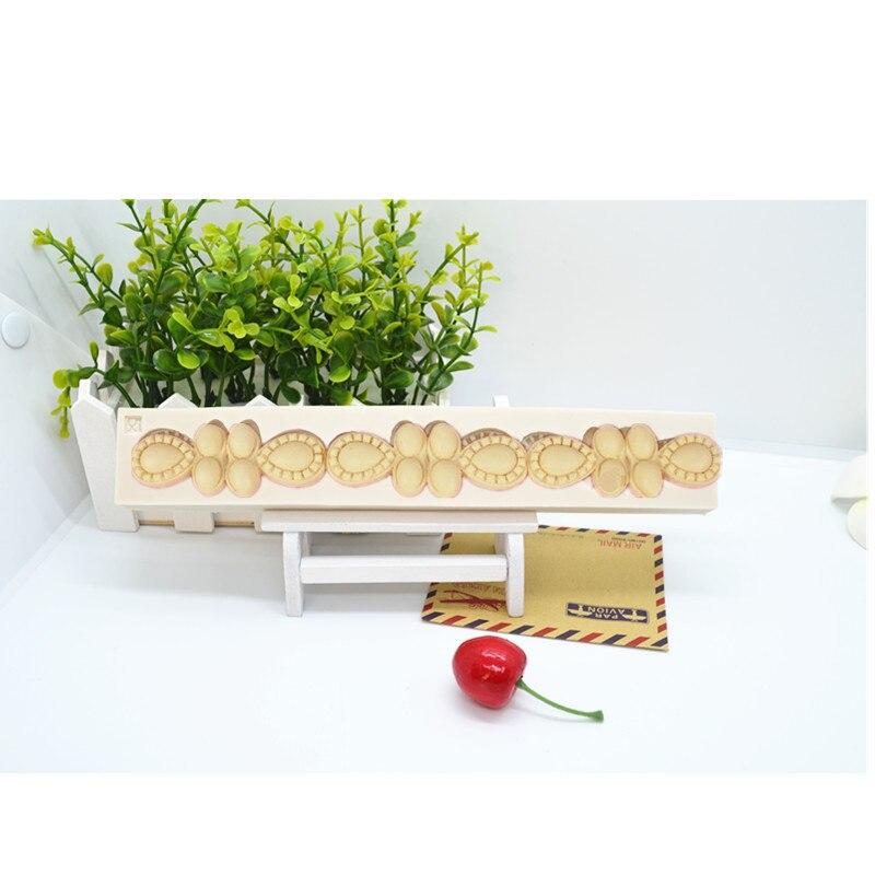 Жемчужные силиконовые формы для торта, форма для помадки, инструменты для украшения тортов, форма для шоколада, форма для выпечки, силиконов...
