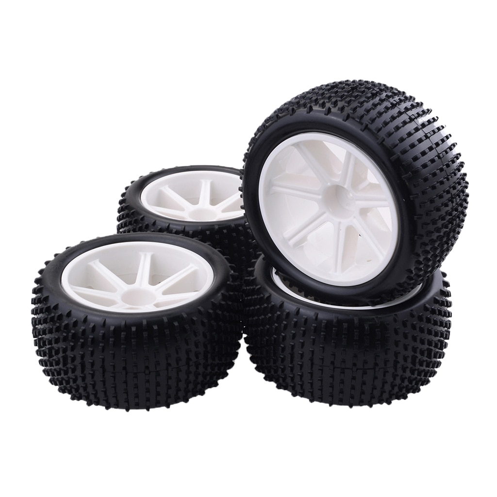 4 Pieces Tire Wheel Replacement Accessories For 1/10 Electronic Cars enlarge