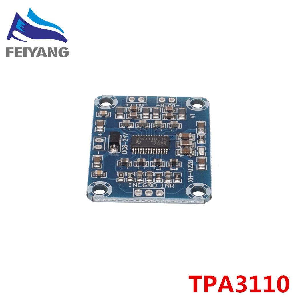 10PCS TPA3110 2X15W Digitale Audio Ster Verstärker Bord Modul Mini Binaural AMP Controller 100dB DC 8-18V max 3A