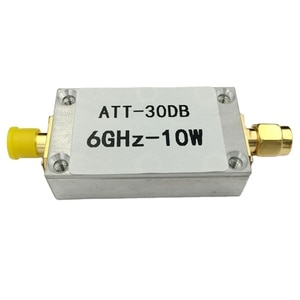 10W 30DB SMA Fixed Attenuator RF Attenuator with Power Meter Spectrum Analyzer