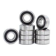 697-2RS Lager ABEC-1 10PCS 8x17x5mm Miniatur 697RS Kugellager 619/7RS Z2V1 697 2RS