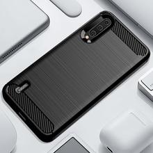 Case For Xiaomi Mi A3 Flexible TPU Shockproof Covers Carbon Fiber Pattern Brushed Cases For Xiaomi Mi A3 A2Lite A2 Lite A1 Cover