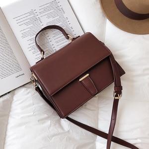 Designer Fashion Woman Shoulder Bag PU Leather Ladies Small Square Bag light Wild Simple Female Daily Messenger Crossbody Bag
