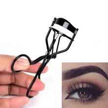 Women Lash Nature Style Stainless steel Curl Eyelash Curlers Black Beauty Tool 1Pcs