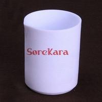 2000ml PTFE Beaker F4 Beaker Measuring Cup Acid Alkali Resistance Beaker