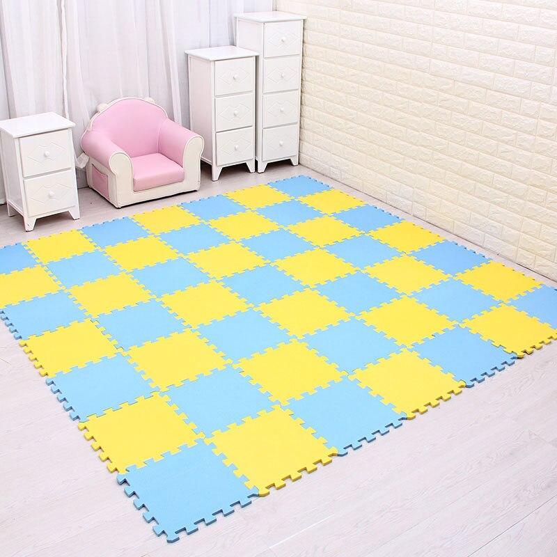 متعددة بلون رغوة الطفل ألعاب ألغاز تلعب حصيرة المتشابكة لعبة ممارسة رياضة بلاط أرضية وسادة طفل طفل
