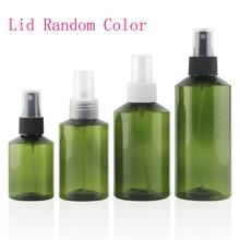 1-2Pcs/Lot 5/10/15/20/30/50 ml White Empty Plastic Nasal Spray Bottles Pump Sprayer Mist Nose Spray Refillable Bottles