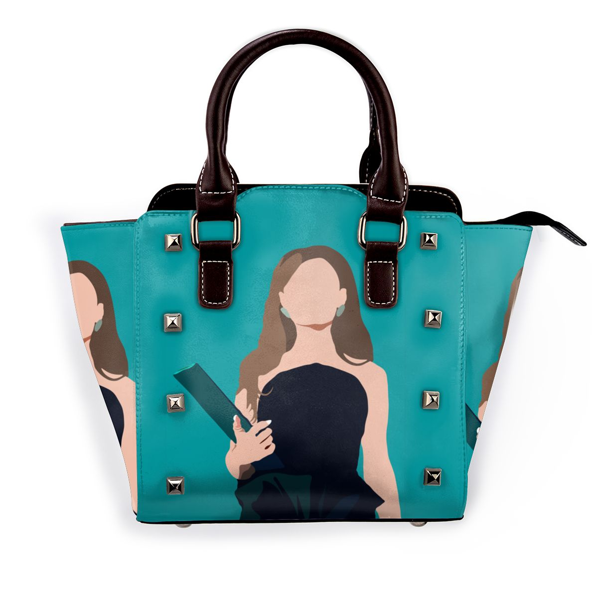 أريانا غراندي حقيبة كتف مواقف الموسيقار قابلة لإعادة الاستخدام حقيبة يد جلدية التسوق حقائب أنيقة الإناث