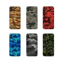Camouflage motif Camo mi litary armée pour Xiao mi mi 4 mi 5 mi 5S mi 6 mi A1 A2 5X6X8 9 Lite SE Pro mi Max mi x 2 3 S TPU souple cas