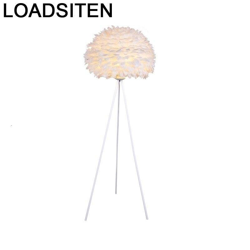 Lámpara De Pie De estilo nórdico Para sala De estar, lámpara De...