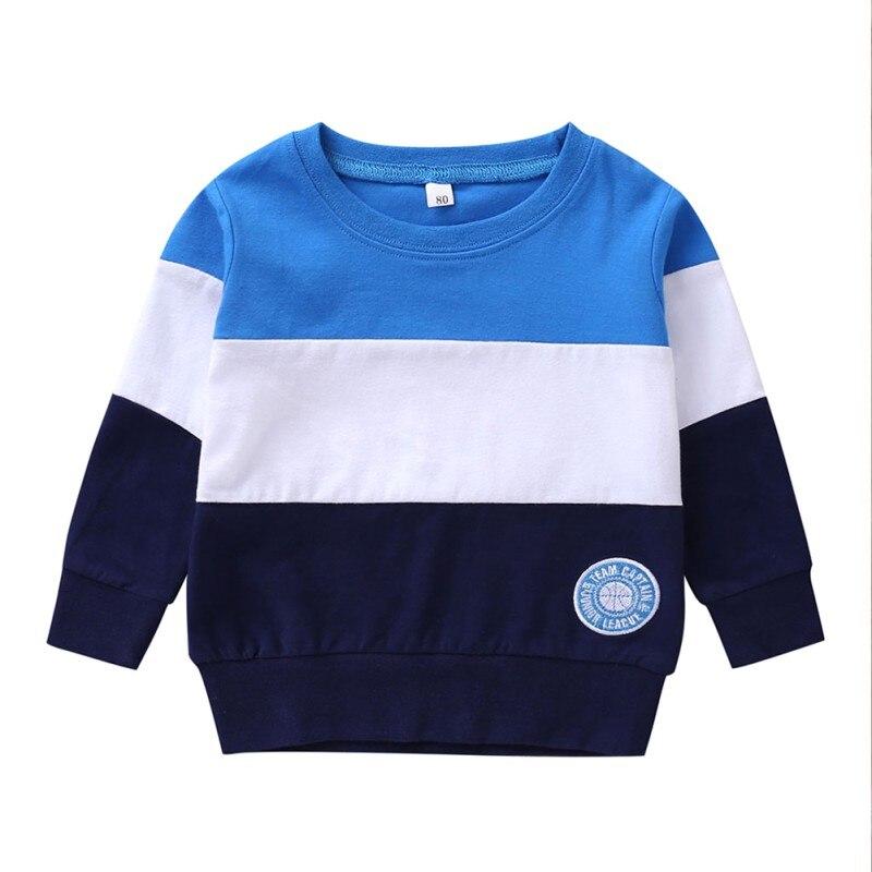 Sudadera de bebé para niño, camisetas de manga larga para niños, ropa cálida de otoño para niños, sudaderas cálidas con personajes de dibujos animados, ropa para niños