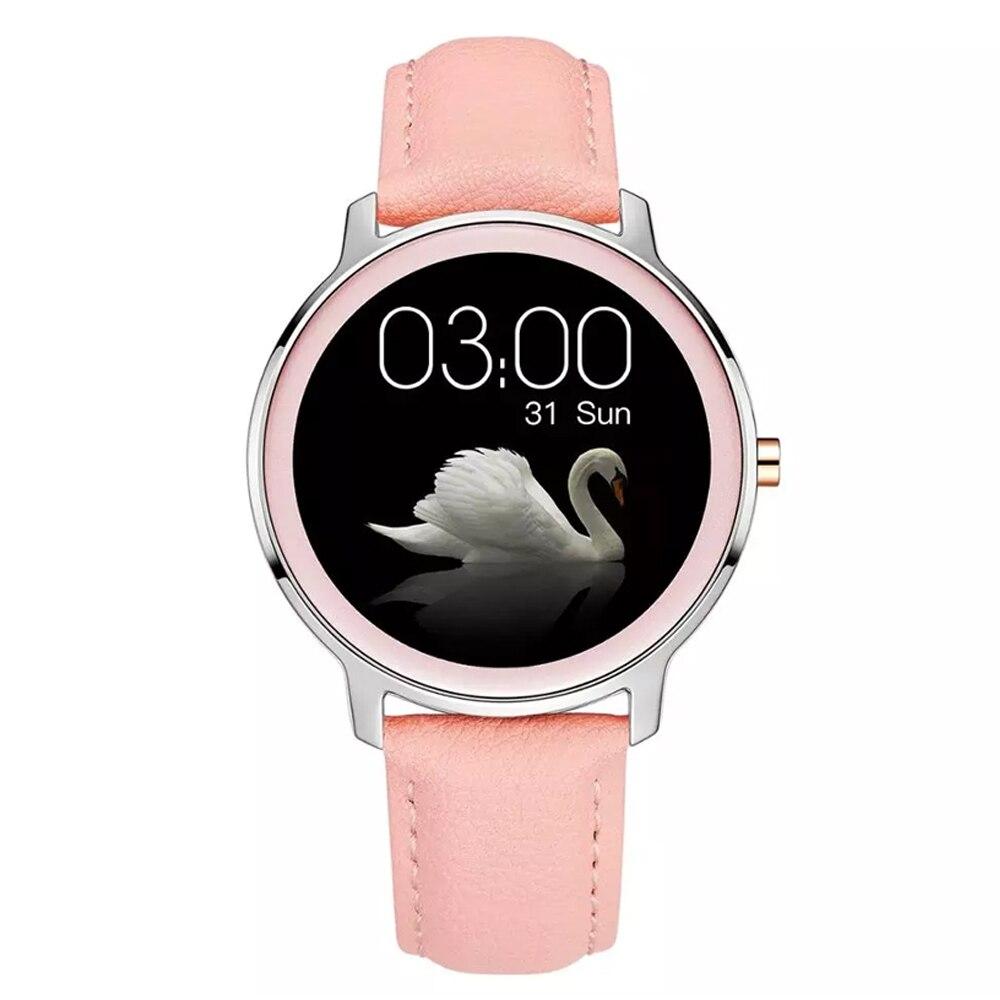 SENBONO 2021 ساعة ذكية للنساء BT5.0 معدل ضربات القلب ضغط الدم الرياضة اللياقة البدنية السيدات ساعة ذكية IP67 مقاوم للماء Smartwatch النساء