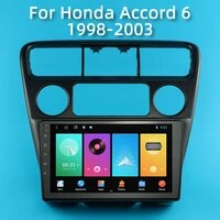 2 din for honda accord 6 1998 2003 car radio multimedia video player android navigation gps wifi fm head unit autoradio