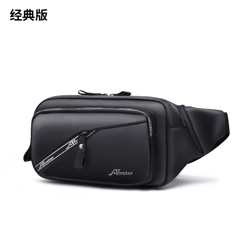Men's Waist Bag New Waterproof Multifunctional Outdoor Sports And leisure Running Bag Large Capacity