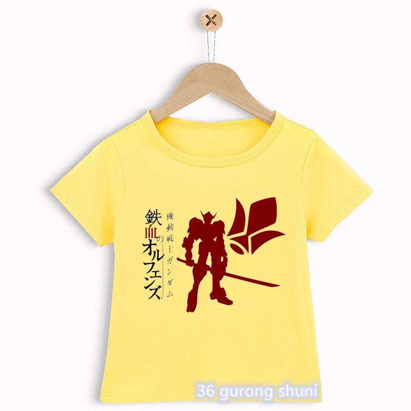 Camisetas divertidas de anime japonés para niños, playera con estampado de dibujos...