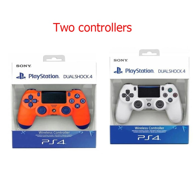 100% Original Sony PS4 joystick Bluetooth wireless gamepad controller PS4 gamepad controller wireless Bluetooth gamepad + box 8