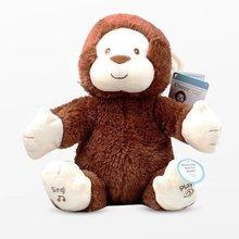 Neue Nette Elektrische Affe Kinder Baby Stofftier, Dass Kann Singen Dance und Klatschen