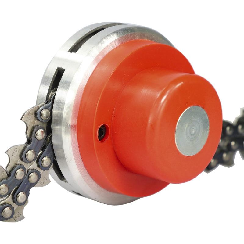 1 шт. нейлоновая бензиновая цепь, многофункциональные прочные инструменты для газонокосилки, цепь для газонокосилки, многофункциональная э...
