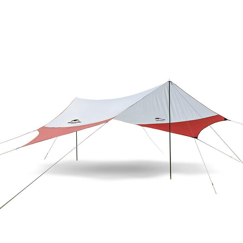 Nh nokia céu hexagonal cortina de lazer ao ar livre protetor solar praia tenda à prova de chuva abrigo acampamento abrigo