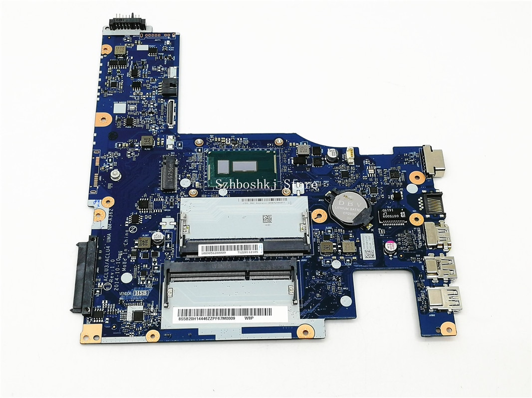 ACLU3/ ACLU4 UMA NM-A362 لينوفو Ideapad G50-80 5B20H14446 الكمبيوتر المحمول اللوحة مع المعالج 3805U SR210 (صالح i3 i5 i7)