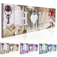 Grand  Sweet Home coeur et fleurs  bricolage diamant peinture pleine strass mosaique 5D diamant broderie decoration de mariage YG1366