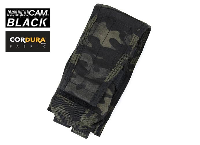 TMC Molle, bolsa Vertical individual para revistas M4, Multicam negra (SKU050752)