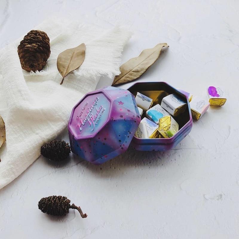 Pinturas de acuarela hechas a mano, arte de uñas perlada, Acuarelas sólidas,...