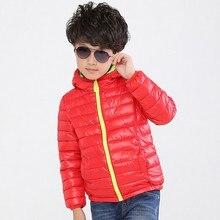 Kids Winter Jacket 2020 New Brand Hooded Coat Long Sleeve Windproof Children Down Cotton Coat 12-15 years