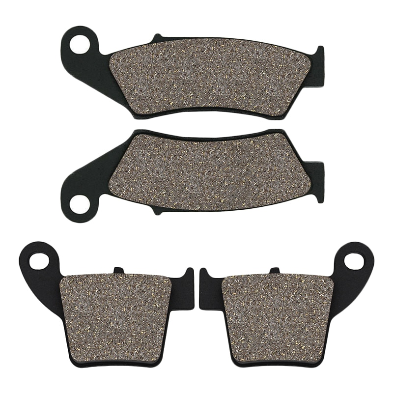 Motorcycle Front & Rear Brake Pads for Honda CRF250 R/X (04-15)/CRF450 R/X (02-15) CRF250R CRF250X CRF450R CRF450X