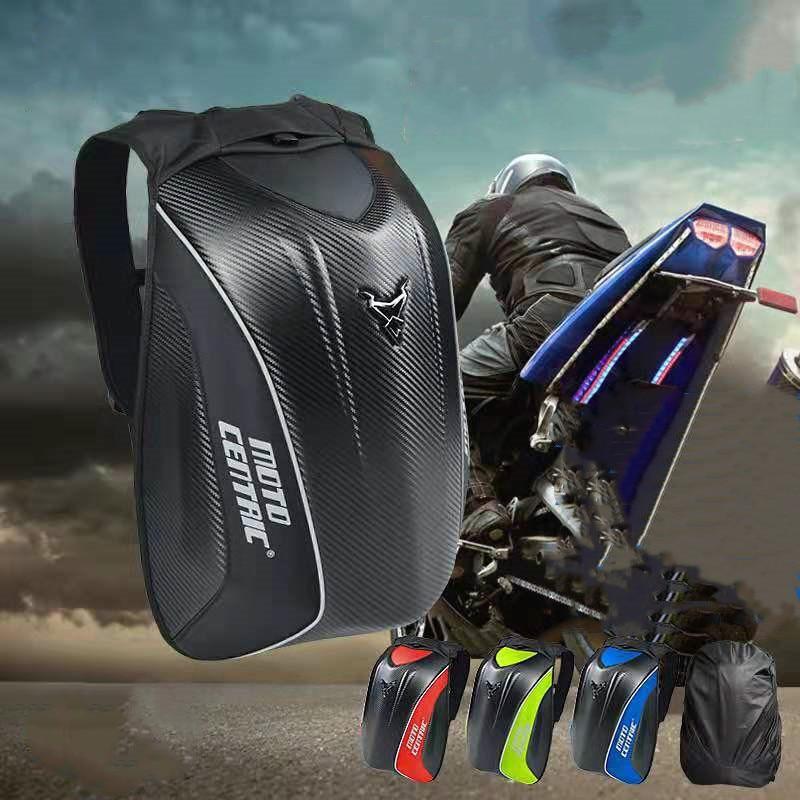 مقاوم للماء دراجة نارية الذيل حقيبة متعددة الوظائف موتو رايدر ظهره دراجة نارية ألياف الكربون الأمتعة الخلفية حقيبة مقعد قدرة عالية