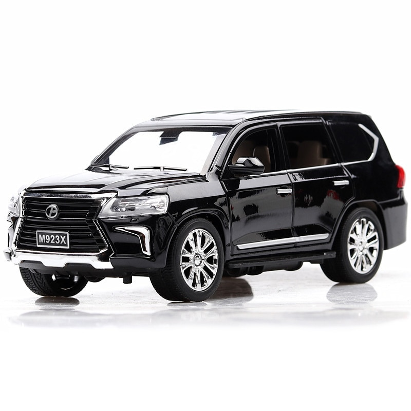1:24 Scale Diecast Car Model Alloy Toy Vehicle Collection Simulation Suv Sound Light Door Open Pull Back Car Toys For Boys Gift 1 24 diecast car model metal toy vehicle suv alloy car wheels sound and light doors open pull back car boys toys cars kids gift