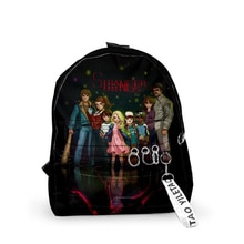 3d Print Stranger Things Backpacks Men Women School Bags Multi Pocket Travel Bags Girl Boy Teenage 3D Notebook Shoulder Backpack