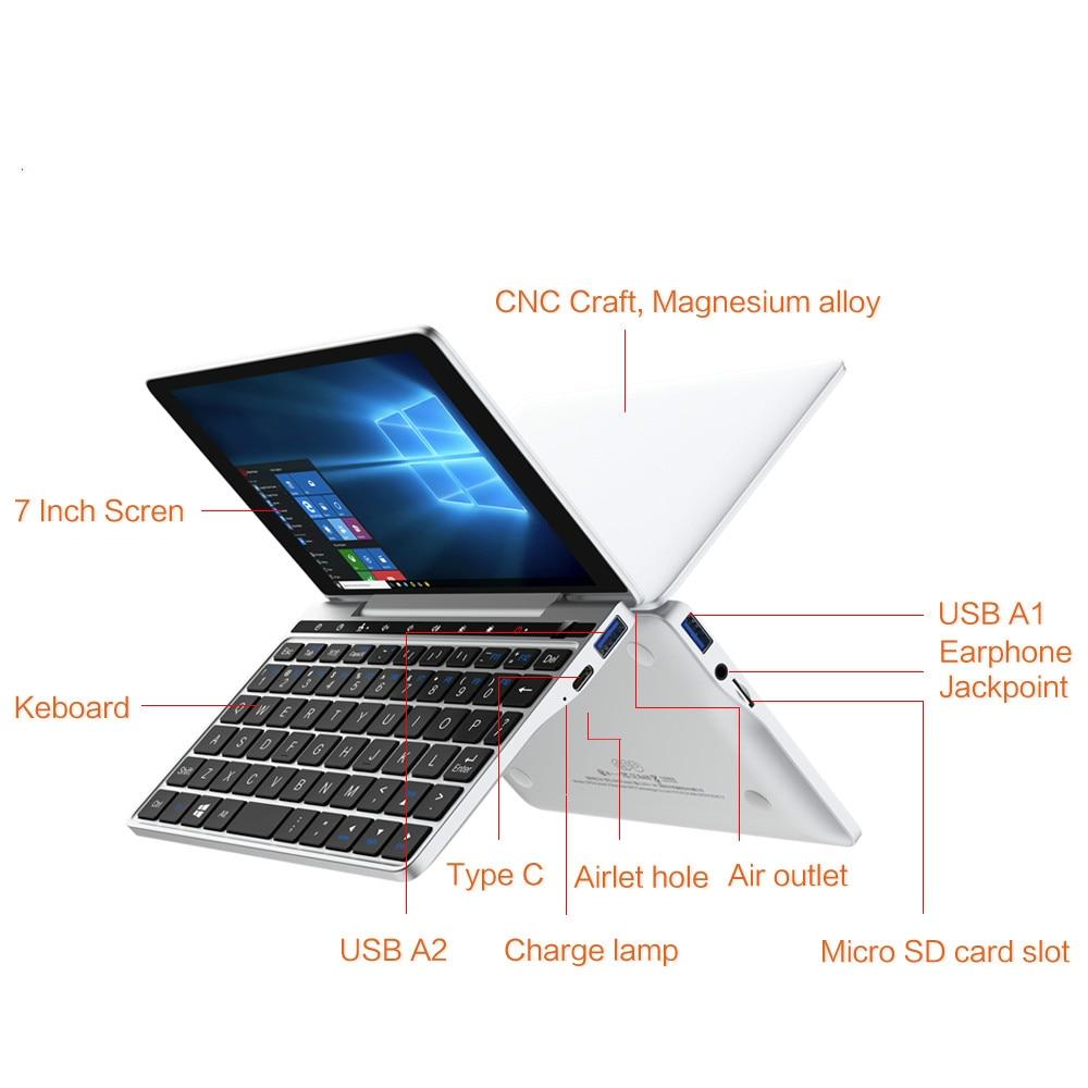 Pocket PC Slim Micro Computer Laptop Ultrabook GPD Pocket 2 8GB 256GB 7