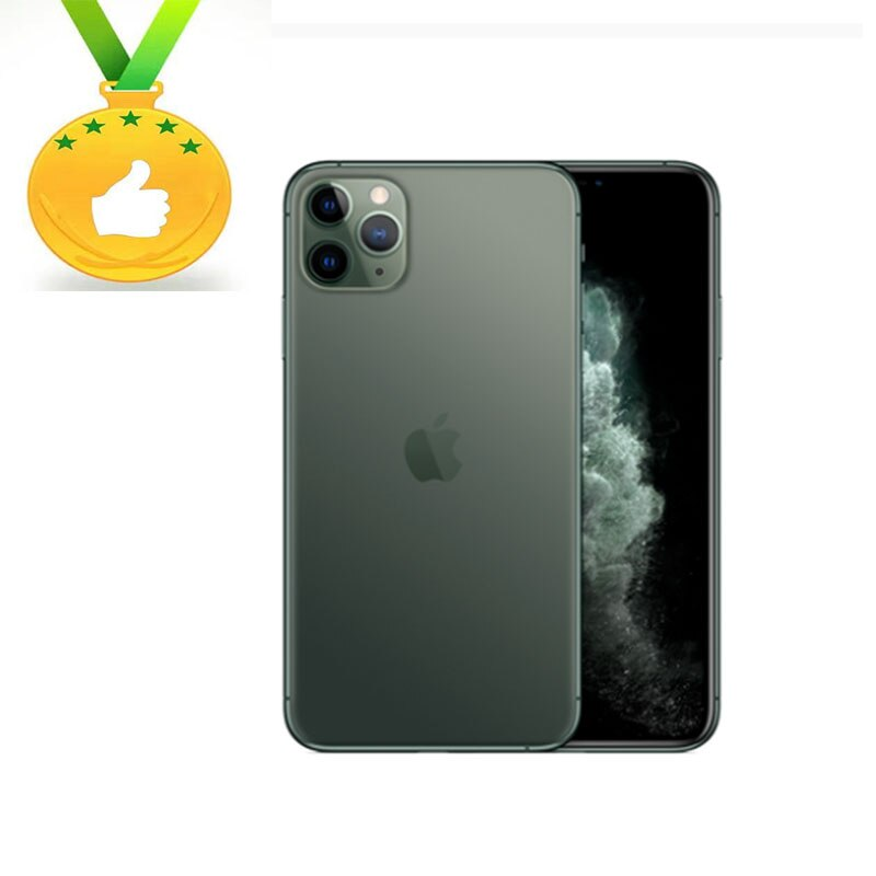 Apple Store Global Version Original iPhone 11Pro  6.1inch Face ID NFC ROM 64GB / 128GB/ 256GB Smartphone A13 Hexa-core Apple Pay