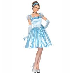 Princesa cinderela traje adulto mulher branca de neve roupa halloween hen party fantasia vestido