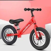 Aluminum Alloy Balance Child Bicycle Non Slip Tire Smooth Bearing Comfortable Saddle Student Balance bike