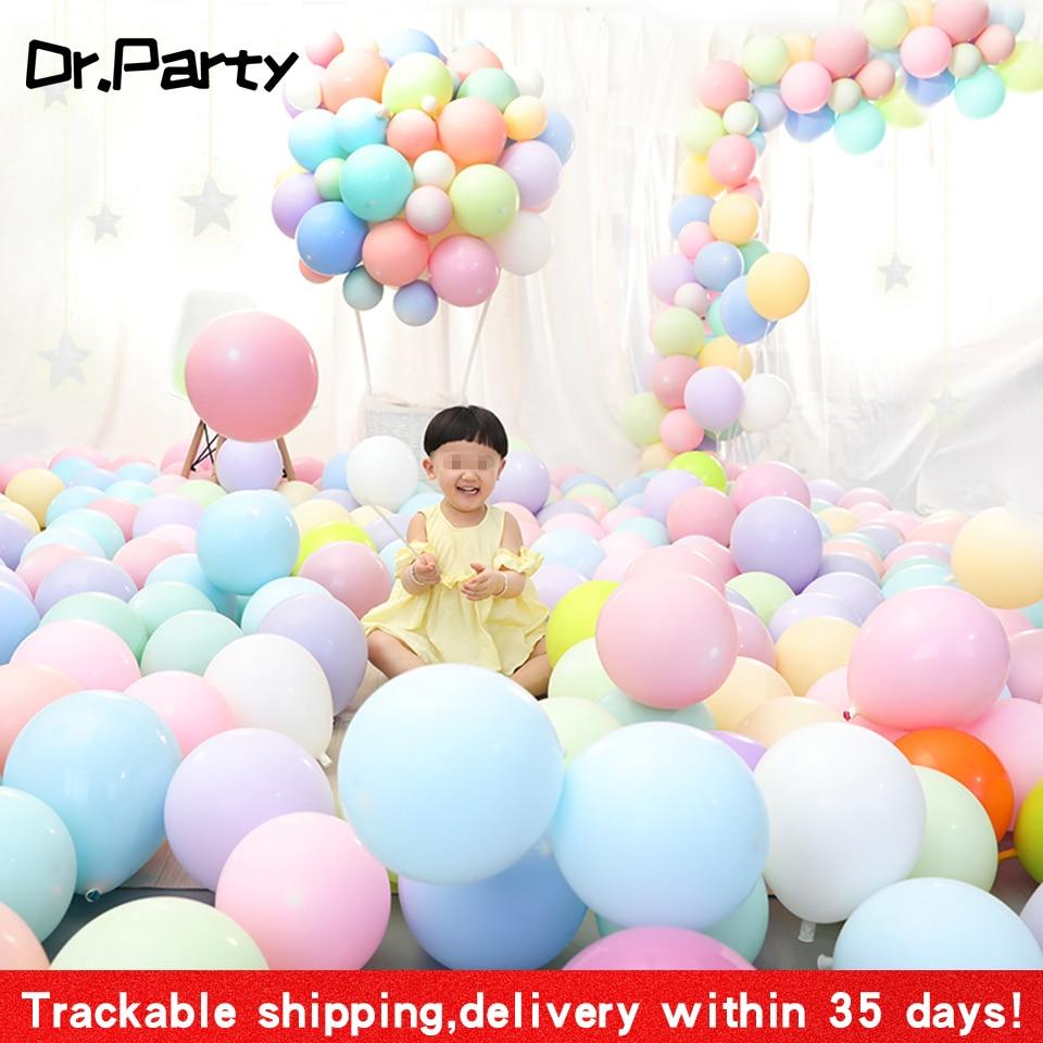 100pcs Macaron Birthday Party Decoration Balloons Pastel Latex Balloon Garland Party Supplies Balloon Arch Fast Shipping JL0143