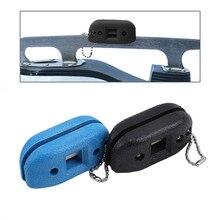 Accessoires de chaussures daffûteuse de Double côté portatif daffûteuse de chaussure de Hockey sur glace de grès blanc réglable universel daffûteuse