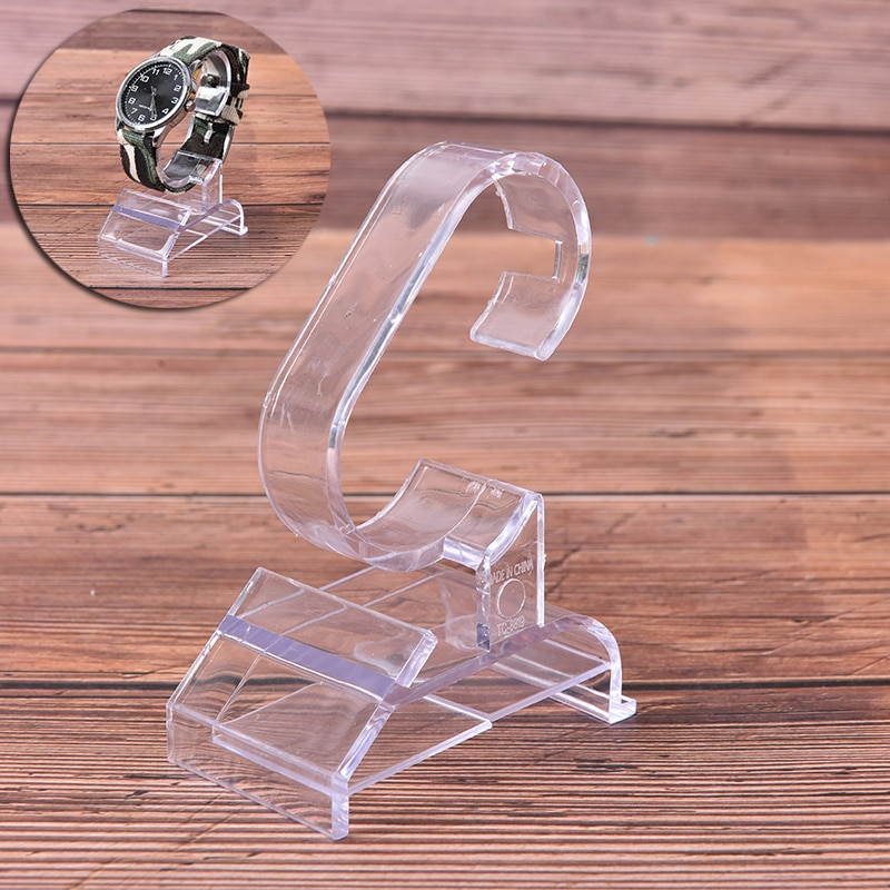 Practical Fashion Clear Acrylic Bracelet Watch Display Holder Stand Rack