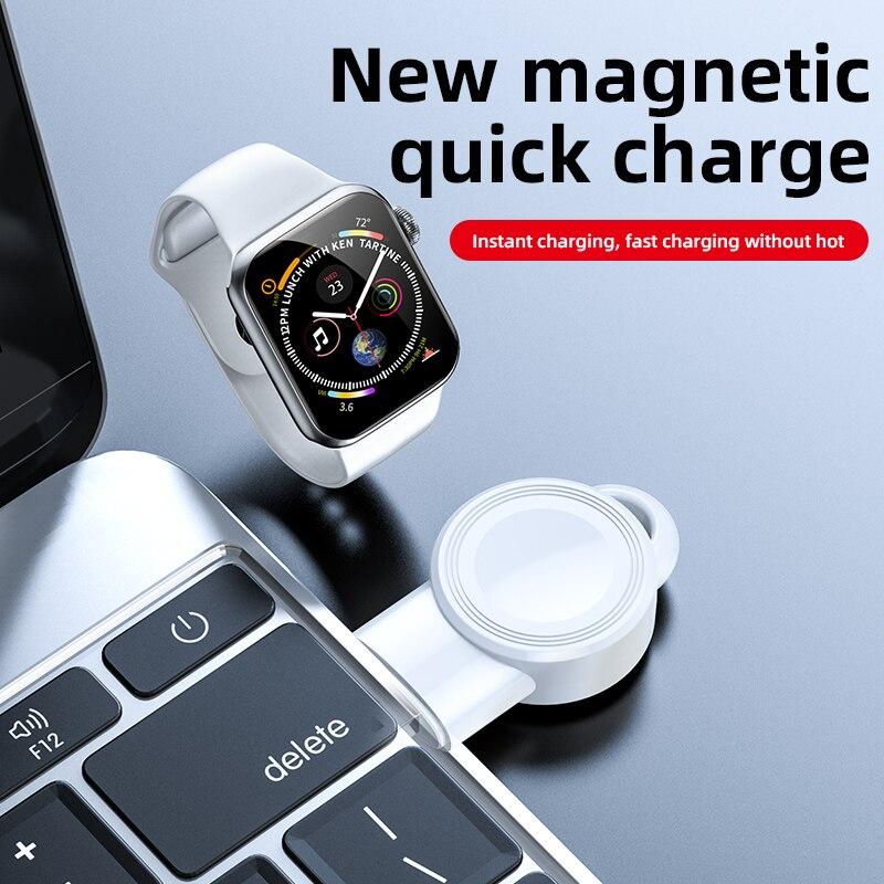 GECENinov ساعة ذكية المغناطيسي شحن لاسلكي ل iWatch