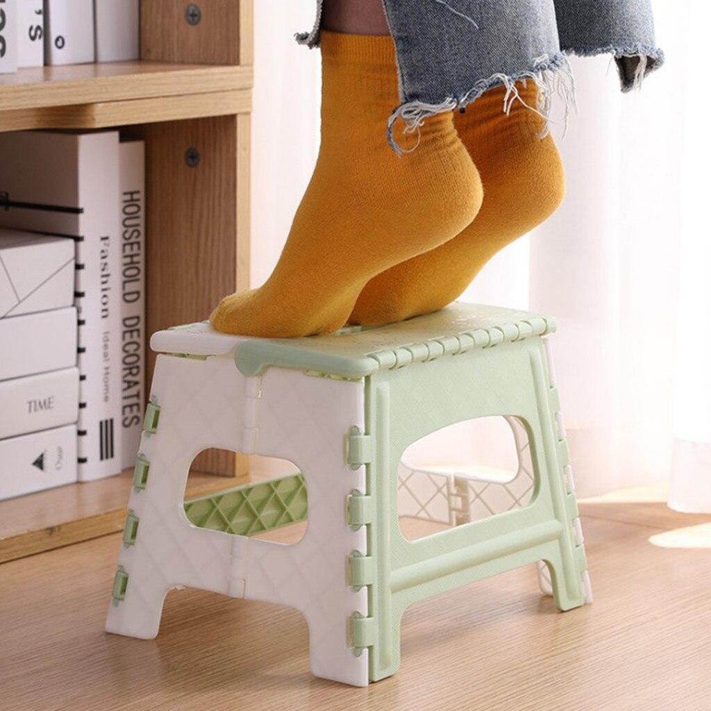 Undefined Plastic Multi Purpose Folding Stool Step stool kids Home Train Outdoor Indoor Storage Foldable Child stool plegable