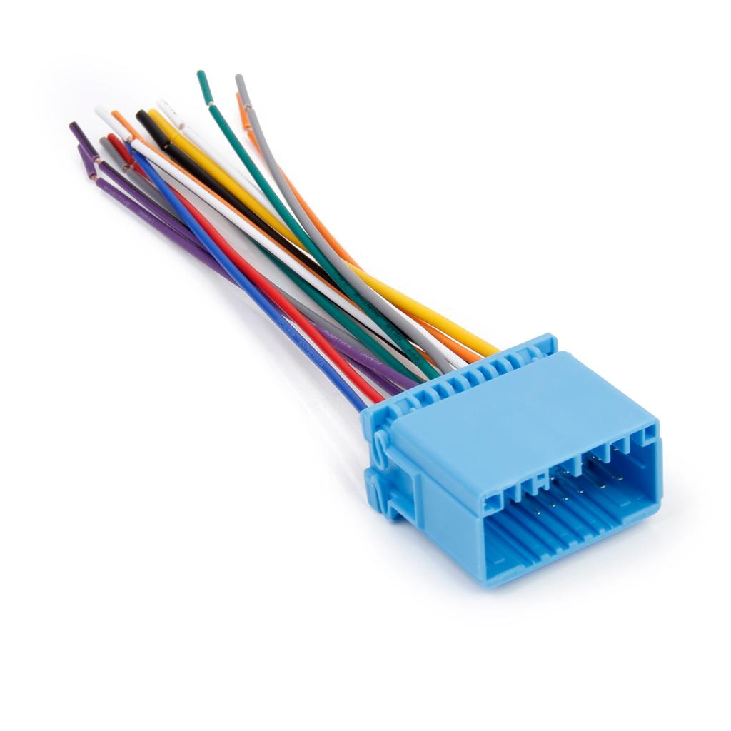 Audio estéreo para coche, reproductor de DVD, arnés de cableado, adaptador de enchufes, Cables para Honda/Fit/Accord/Odyssey/Buick Excelle
