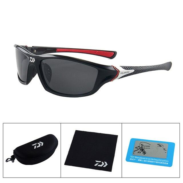 Поляризованные солнцезащитные очки DAIWA для мужчин и женщин, очки для рыбалки, очки для спорта на открытом воздухе, очки для кемпинга, пешего туризма, вождения UV400 с упаковкой | Спорт и развлечения | АлиЭкспресс