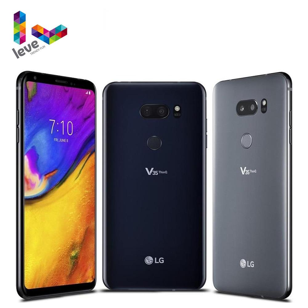 Смартфон LG V35 ThinQ V350N V350AWM, разблокированный, мобильный телефон, экран 6,0 дюйма,