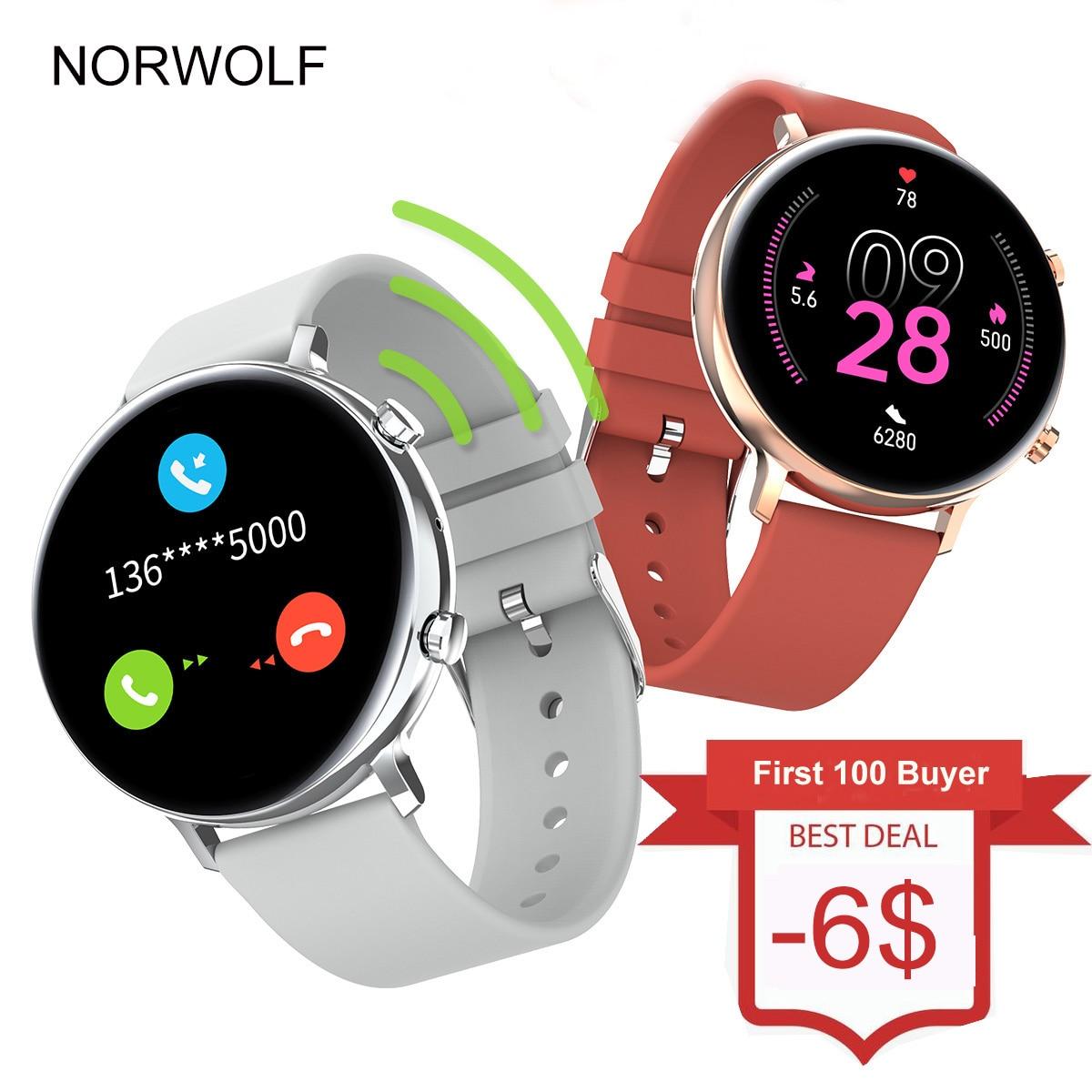 NORWOLF Smart Watch Bluetooth Call 2021 men women GTR 2e Fitness Smartwatch for Xiaomi Apple Android Heart Rate Smart Clock