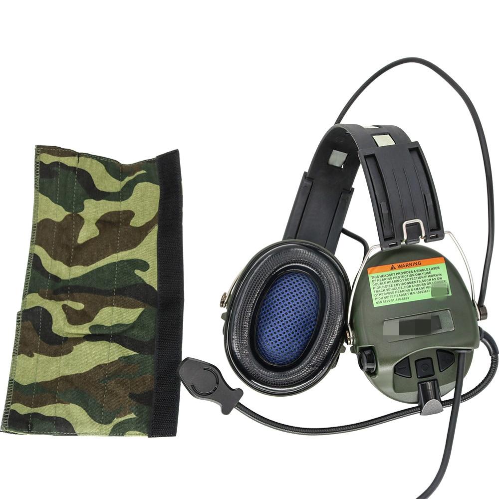 Tactical Softair Sordin Headset Noise Reduction Earphone Hunting Airsoft Headphone FG + PTT U94 Kenwood 2 Pin Plug enlarge