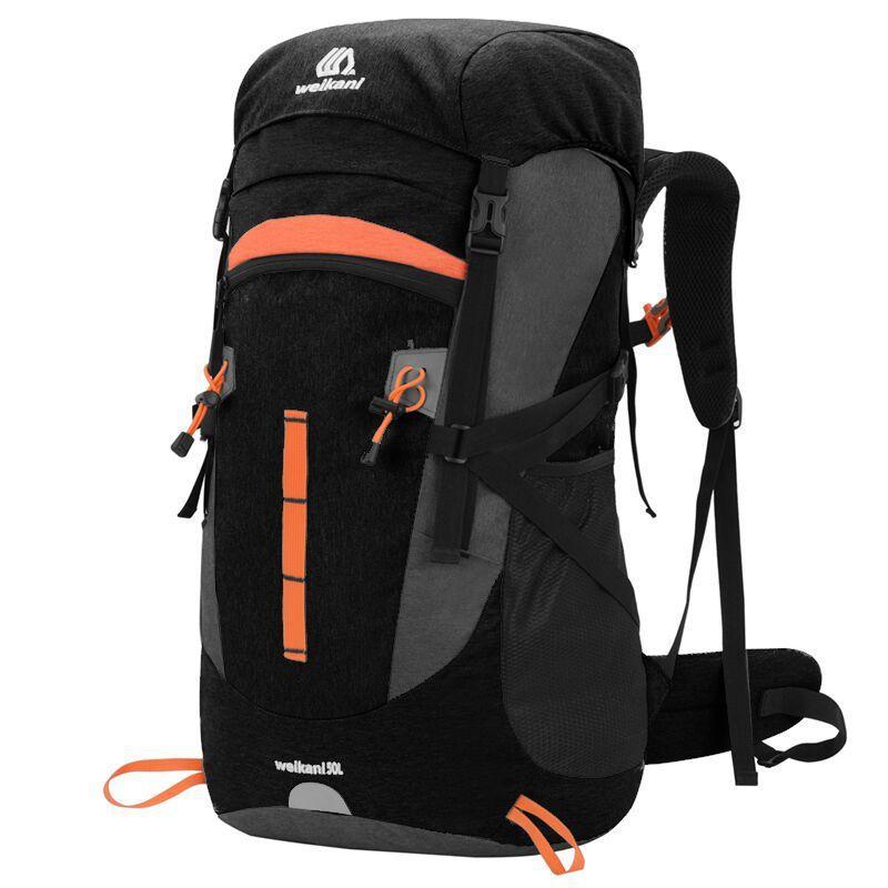 Night Reflection Men's Backpack Camping 50L Hiking Trekking Backpacks Sport Traveler Tactical Mountaineering Bag Male Water Bag