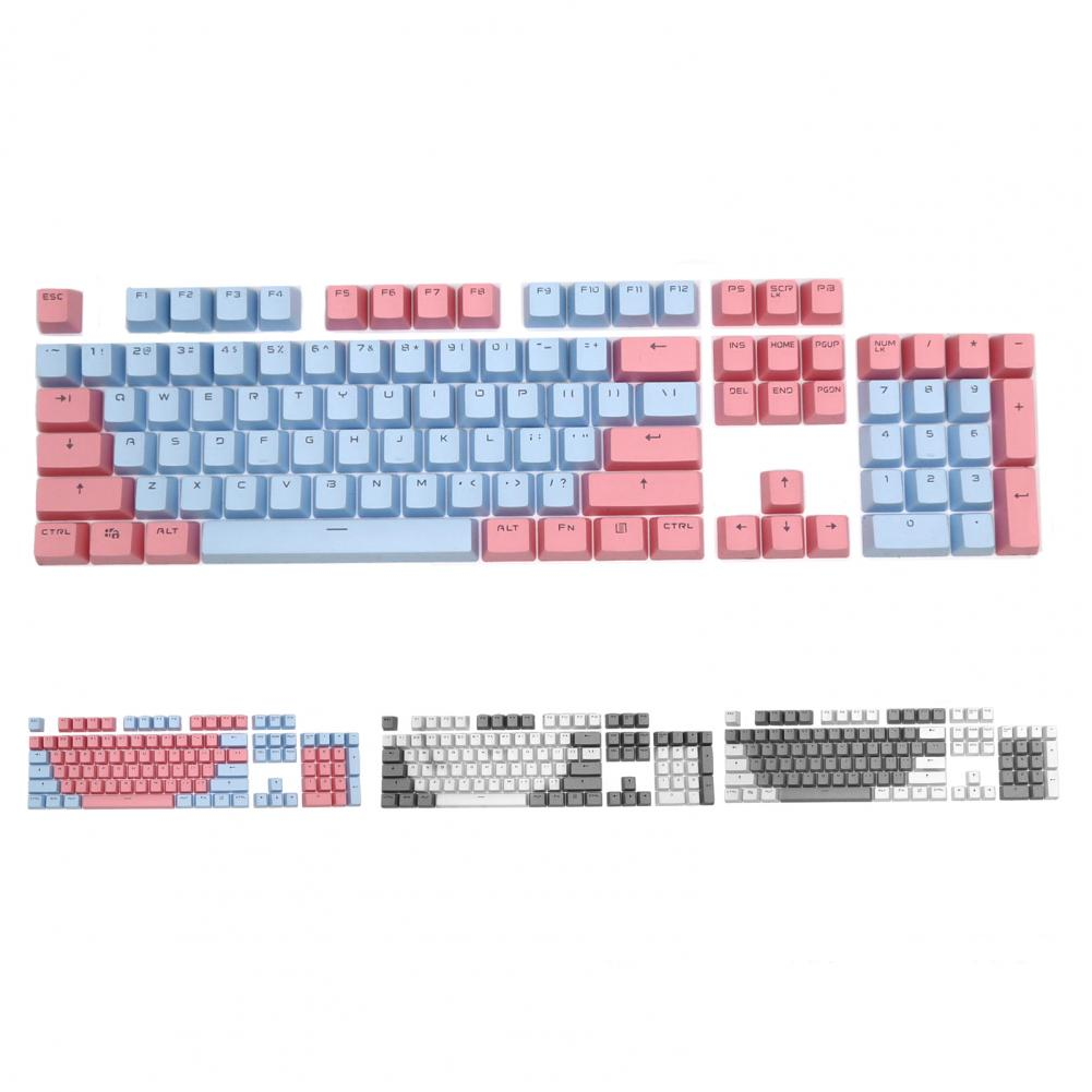 87-key Keyboard For PC Computer With Contrasting Color Keycap Color PBT Mechanical Keyboard Replacement Keycap enlarge