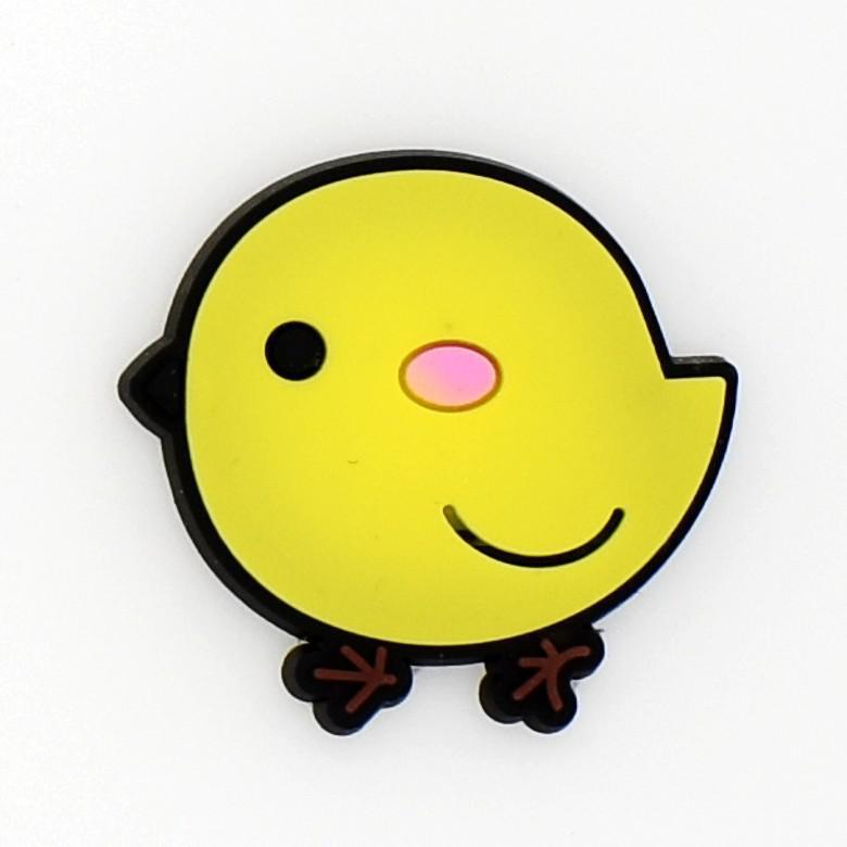 10pcs Little Yellow Chicken Kids Boys And Girls Summer Sandal Clogs Ornaments XH-90